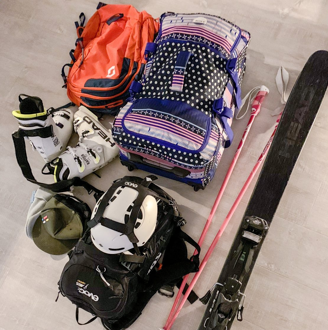 Packing list ski trip - Paklijst voor de wintersport